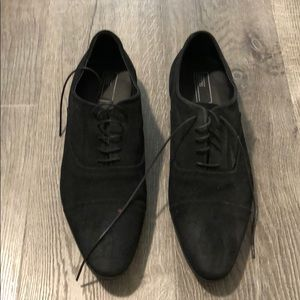 ASOS suede dress shoes